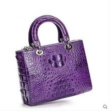 ouluoer women handbag lady 2017 new real crocodile leather Thai crocodile handbag