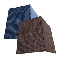 Japanese OLFA portable folding A3 Rectangle Grid Lines Self Healing Cutting Mat Fabric Leather Paper Craft hand engraving plate