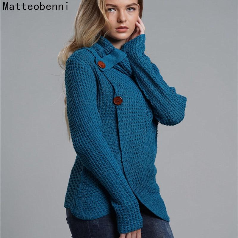 turtleneck winter knitted sweater Women Long sleeve loose cardigan female Oversize Soft warm autumn casual jumper streetwear Top
