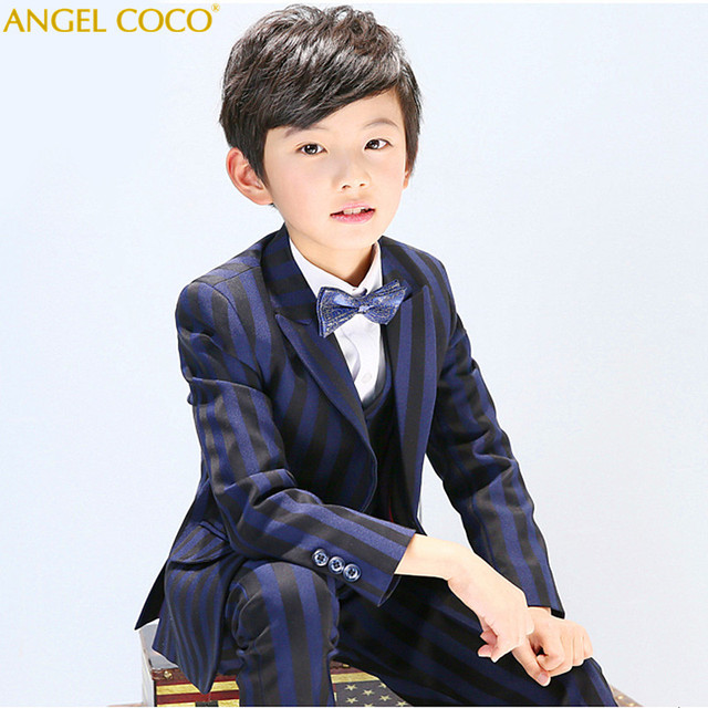 Boys Blazers Kids Suits For Weddings Prom Wedding Dress Tuexdo Children