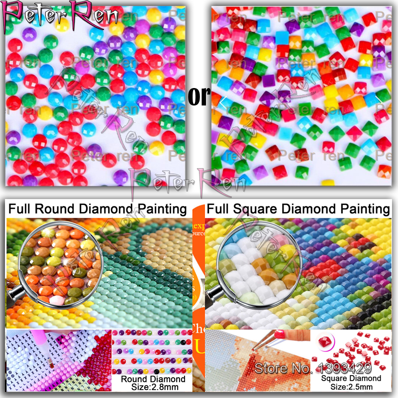New Diamond painting Cartoon skull Full Square Round Diamond embroidery Resin Cross stitch Crystal paintings of Wall in Diamond Painting Cross Stitch from Home Garden