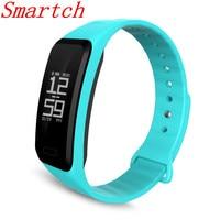Smartch Coeur Taux R1 Smart Bracelets Tactile Bracelet Passometer Bluetooth Sport Fitness Tracker pour iPhone Andriod Téléphone