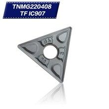 External Turning Tools TNMG432 TNMG220408 TF IC907 Carbide inserts Lathe cutter Cutting Tool CNC Tools Tokarnyy