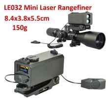 0,15 kg Ultraleicht Gewicht Laser-entfernungsmesser Einstellbare Berg Rilfescope Mini Laser-entfernungsmesser Tactical Laser Getriebe Freies Schiff