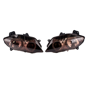 For Yamaha YZF R1 Headlight Headlamp Front Lighting Head Lamp Light 2004 2005 2006 Motorbike Parts Accessories ABS Plastic Brown