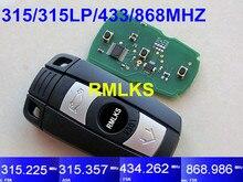 RMLKS Smart Card For BMW Remote Key 1 3 5 X Series CAS3 Keyless Entry System