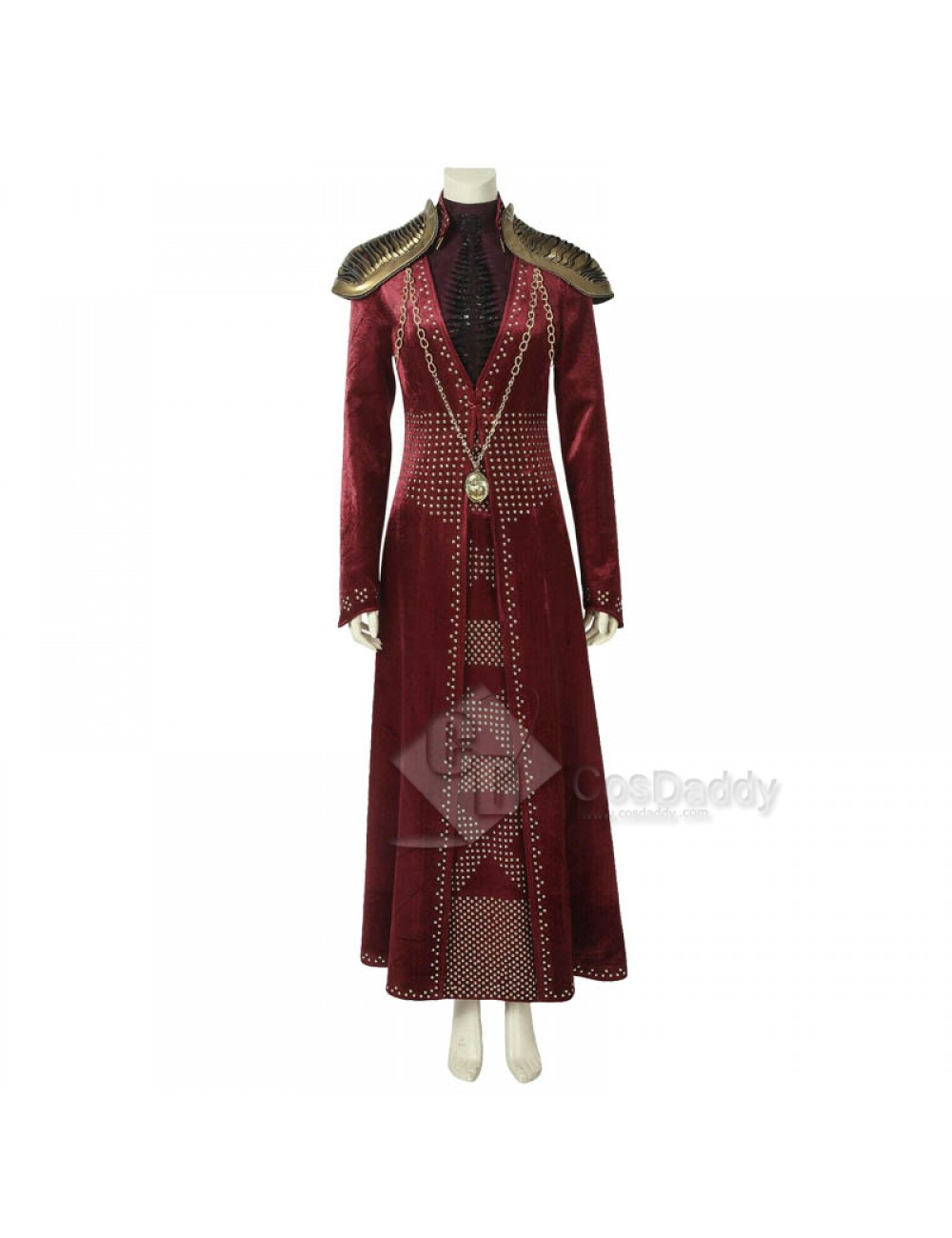Cersei Lannister Cosplay Costume Season 8 Full Set Women Halloween Party Show Costume