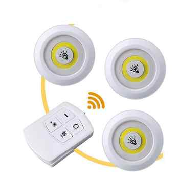 2 pieces/lot Wireless Remote Control Patting Led Lamp Cabinet Infant Feeding Body Light Decoration 12v Lightning Nightlight - DISCOUNT ITEM  35% OFF All Category
