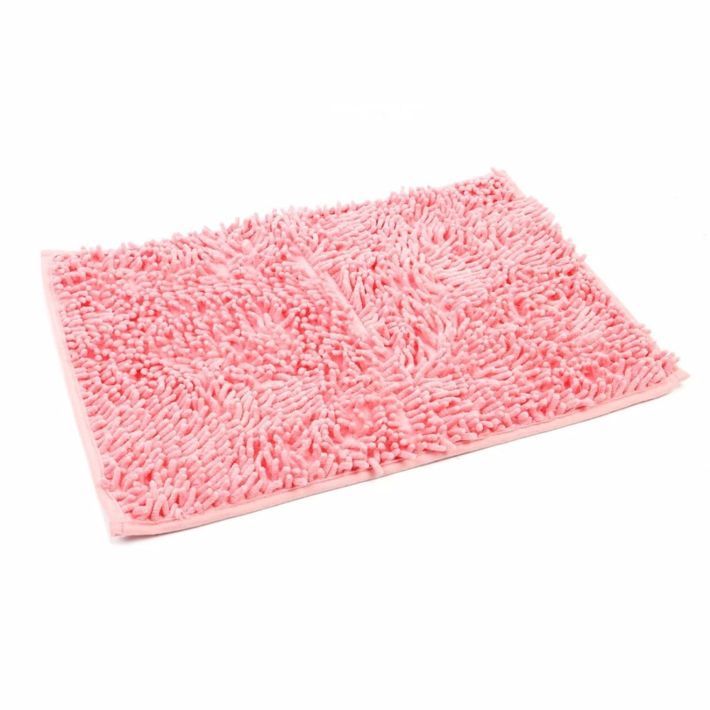 Blanc cr/émeux 30/x 50/cm 19.69*11.81 Top-Sell suave Alfombra antideslizante y antibacteriana de microfibra flexible para absorber
