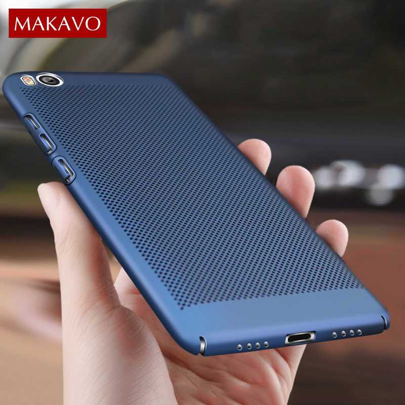 MAKAVO Phone-Case Back-Cover 360-Protection Xiaomi Mi5 Mi5s-Plus Matte For Hard Slim