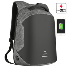 цены на Anti Theft Backpack For Men Laptop Backpack 15.6 Inch Oxford Waterproof USB Charging School Travel Backpack Male Teenagers NEW  в интернет-магазинах