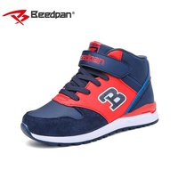 2017 BEEDPAN New Arrival Children Boys Sport Shoes Outdoor Shoes Casual Sneaker running shoes keep warm for Boys Size 3 colors