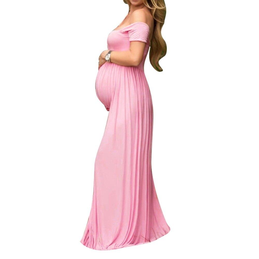Tienda Online Elegante maternidad vestidos fotografía Props embarazo ...