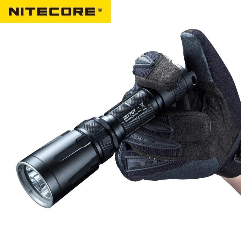 NiteCore SRT7GT Cree XP L HALLO V3 1000LM Rot Grün Blau UV LED Taschenlampe durch 18650 Batterie für Camping