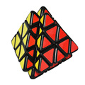 2016 New Quick Finger Volcano Cube Black Strange-Shape Puzzle Speed Pyraminx Twist Classic Toy Special Toys 3x3 2x2 4x4 Cube