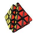 2016 Nova Quick Dedo Vulcão Estranho-Forma do Enigma Velocidade Pyraminx Cube Preto Torção Clássico Brinquedo Brinquedos Especiais 3x3 2x2 4x4 Cubo