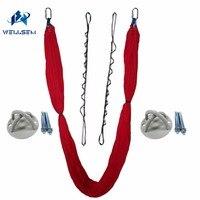 Luxury Set Elastic Aerial Flying Anti Gravity Yoga Hammock Swing Daisy Chain Ceiling Anchor For Yoga