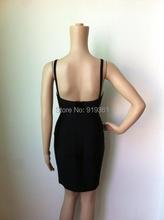 plunge v neck mesh bandage dresses