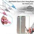 2em1 cord Silicone TPU quadro caso polonês maçante para o iphone 6 6 s telefone conivente