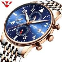 Heren Horloges NIBOSI Waterdicht Quartz Zakenlieden Horloge Topmerk Luxe Klok Casual Militaire Sport Horloge Relogio Masculino
