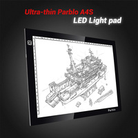 Parblo A4S Ultra Thin Light Boxes LED Boards Professional Animation Drawing Tracing Tracer Copy Board Table