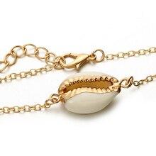 Bohemian Gold Color Shell Bracelet Set for Women Girl  Summer Beach Shell Bracelet Bangle Boho Jewelry