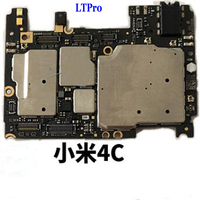 LTPro 100 Tested Working Original Unlocked MainBoard For Xiaomi 4C Mi4C M4C 32GB Motherboard With Full