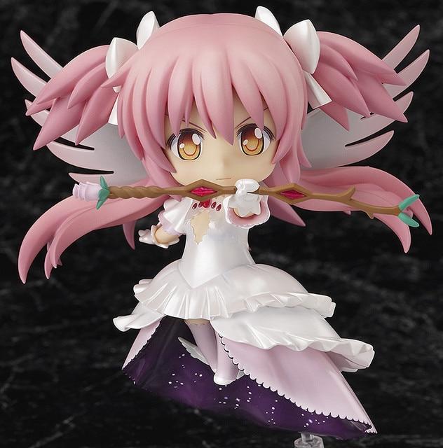 Puella Magi Madoka Magica Kaname Wing Dress GOD Angel Nendoroid 285 10CM PVC Action Figure
