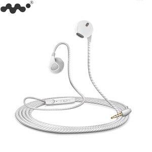 Image 2 - Moblie auriculares 5S para iPhone 6 6S, dispositivo con micrófono y conector Jack de 3,5mm, auriculares de graves para iphone 4 5 6 Xiaomi Sony Sport
