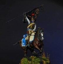 1:16 120mm resina figura modelo kit unassambled sem pintura//g446