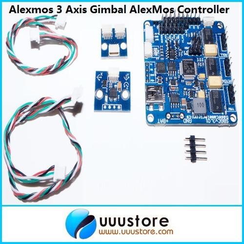 Original Alexmos 3 Axis Gimbal BaseCam 32-bit 3-axis SimpleBGC Brushless Gimbal Controller upgraded rtf iflight g15 dslr handheld brushless gimbal w alexmos basecam controller motor w encoder for 5d gh3 gh4 a7s bmpcc