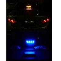 led white Daytime running lights for the car TAXI led light Cab indicator Car light Custom design Fog light Red/Blue/White/Yellow/Green (5)