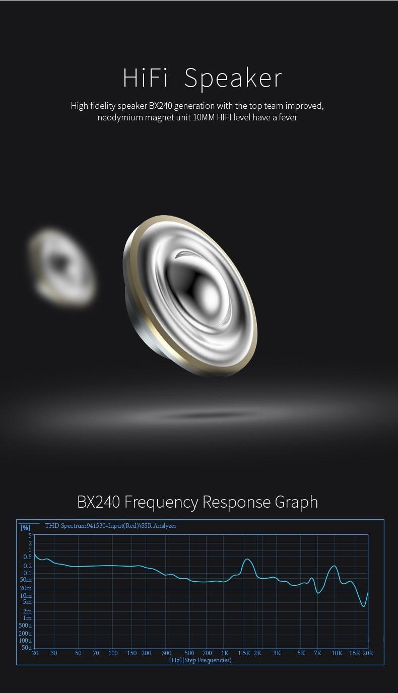 2017 PLEXTONE BX240 Wireless Bluetooth Headset IPX5 Waterproof Headphones Sports Running Stereo Earpiece With Mic for phones