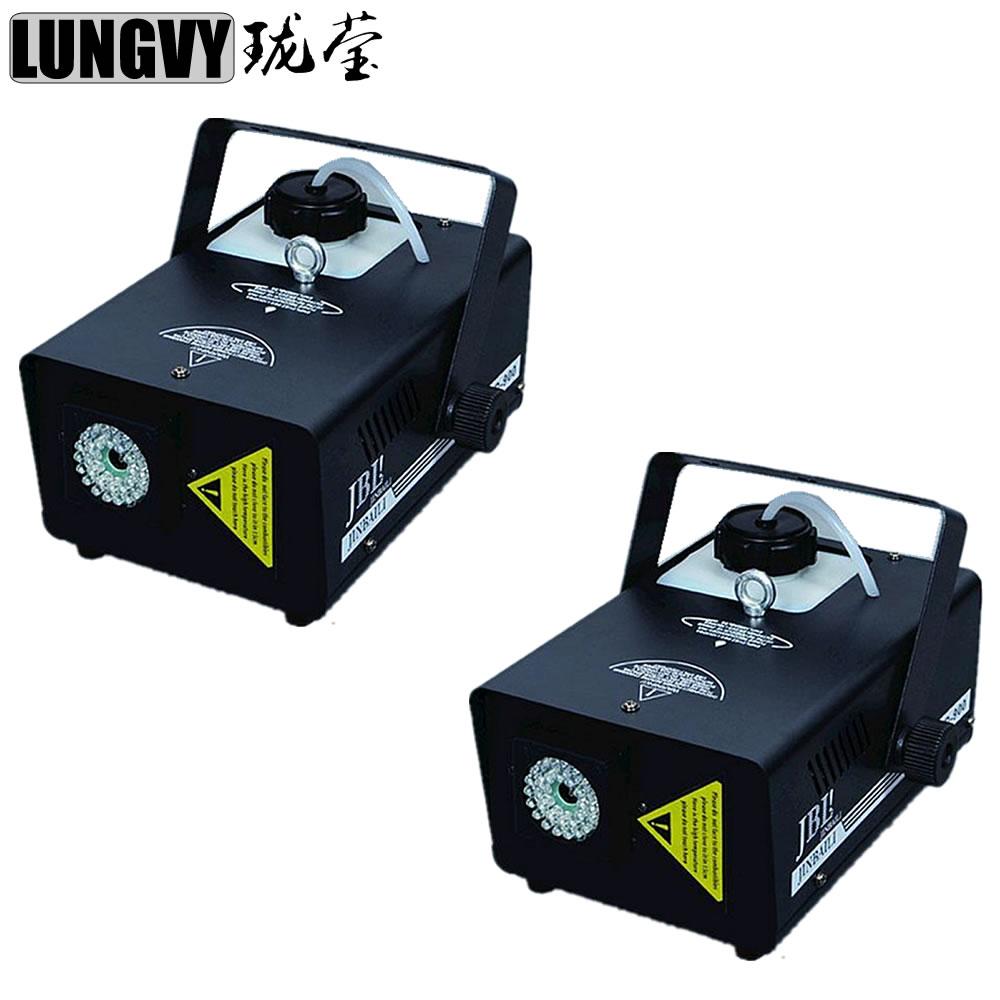 где купить Free Shipping 2pcs/Lot 900W Led Fogger Smoke Machine Stage Remote Control Led Stage Fog Machine дешево