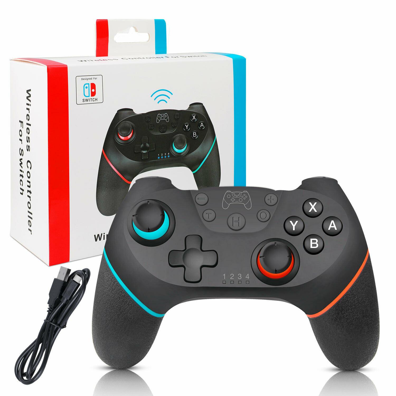 Mando a distancia negro inalámbrico Pro Gamepad Joypad para consola de Nintendo Switch