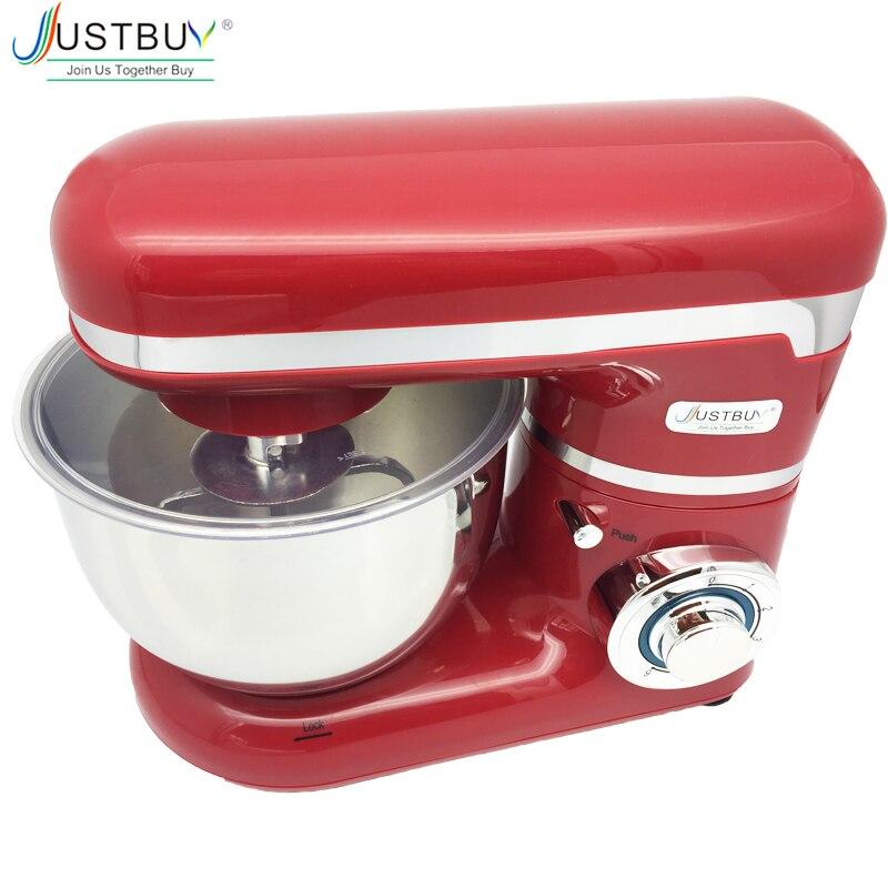 1200 ワット 4L キッチン食品スタンドミキサークリーム卵泡立て器ケーキ生地パンミキサーメーカーブレンダー機  グループ上の 家電製品 からの 食品撹拌機 の中 1