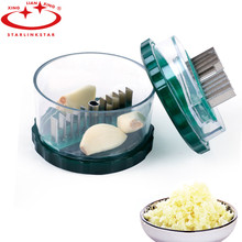 1PC Garlic Press Crusher Chopper Slicer Cutter Grinding Ginger Manual No-touch Grater Mincer Kitchen Gadgets