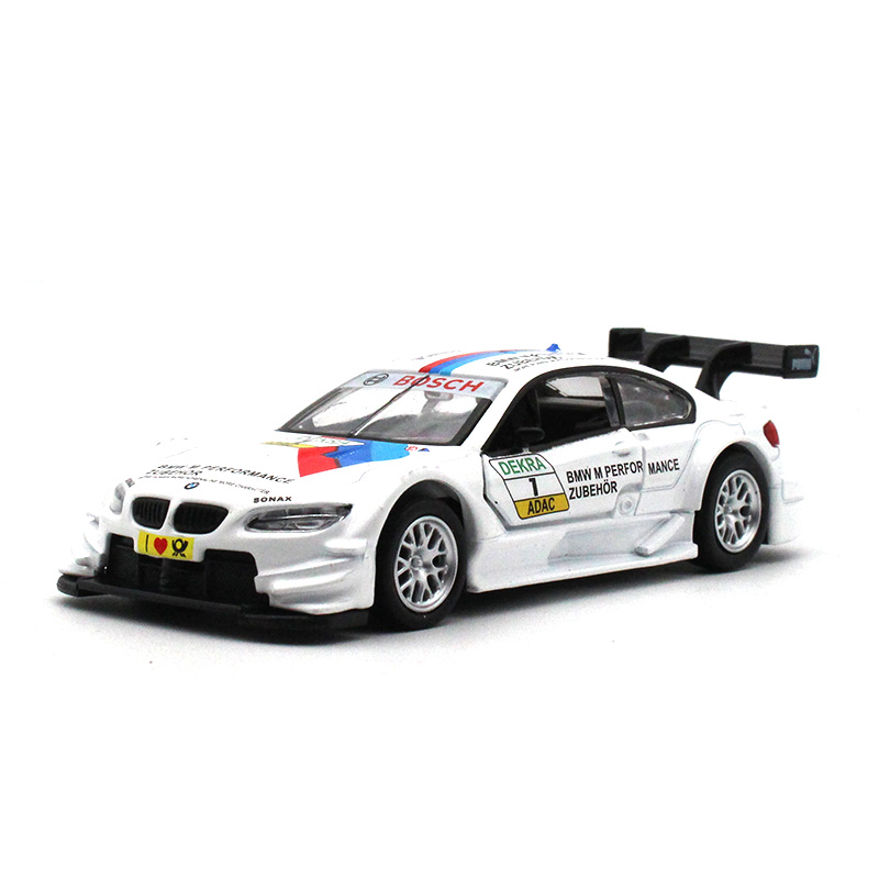CAIPO 1:43 BM M3 <font><b>Diecast</b></font> <font><b>Car</b></font> <font><b>model</b></font> metallic material kids toys Collection decoration Open the door and pull back Toy <font><b>car</b></font> <font><b>model</b></font> image