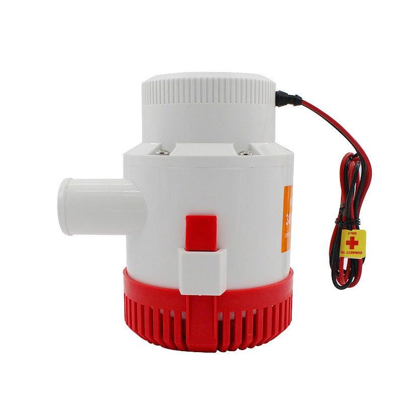 Pompe à eau électrique Submersible 3500GPH DC 12 V 24 V pompe de cale et contrôleur de niveau combinaison d'interrupteur à flotteur pour bateaux - 2