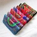 2016 New Women Ethnic Retro Wallet Clutch Bag Embroider Purse Mobile Phone Bag Coin Bag Handbag L915