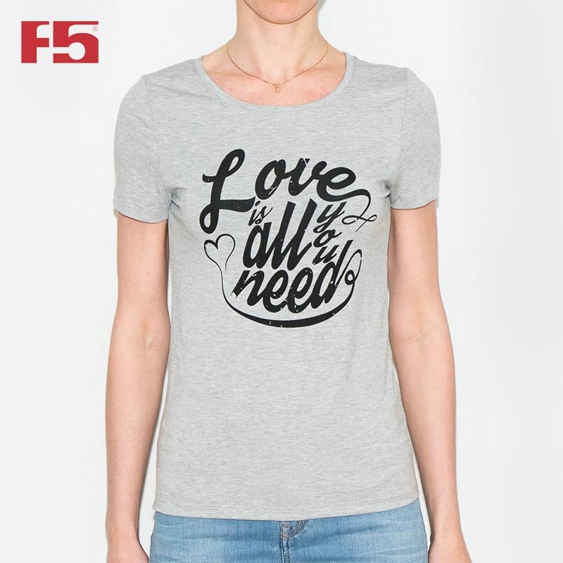 Women Tshirt F5 180059 cute print tshirt