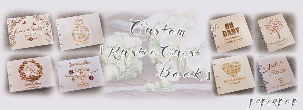 de Visitas, Arrow Wedding Guest Book Alternativa,