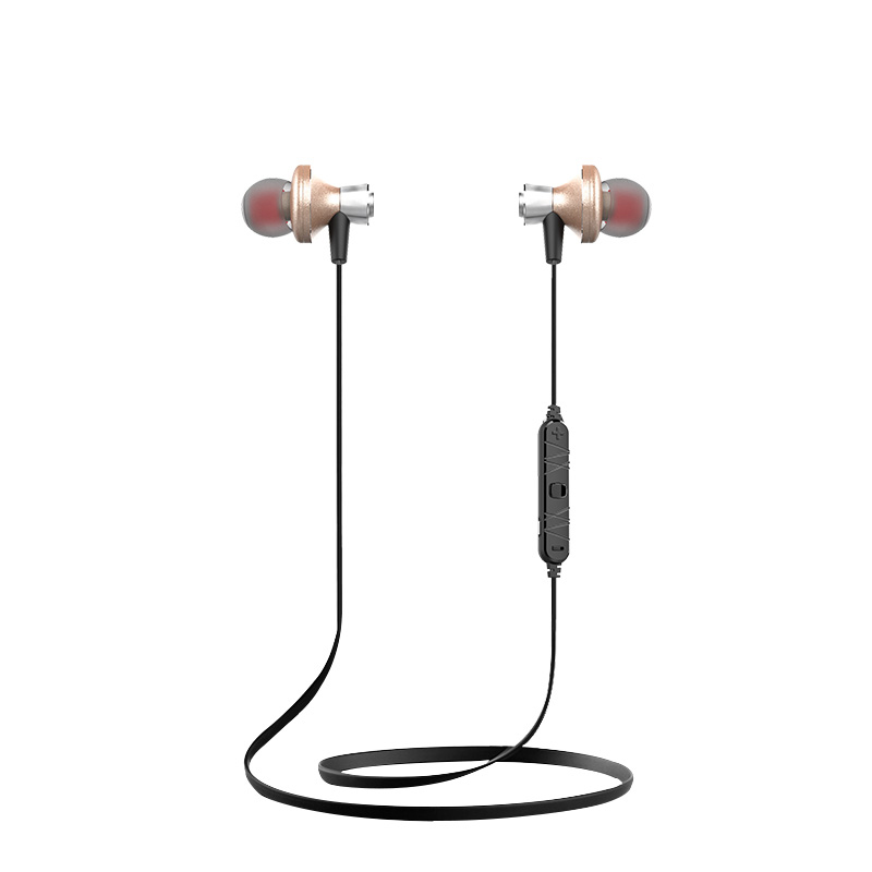 XY1239 Metal Bluetooth Earphone Wireless Headset Magnetic Earbuds Ecouteur Audifonos Auriculares Fone De Ouvido Ecouteur bluetooth headphones fone de ouvido ecouteur bluetooth auriculares headset tbe236n