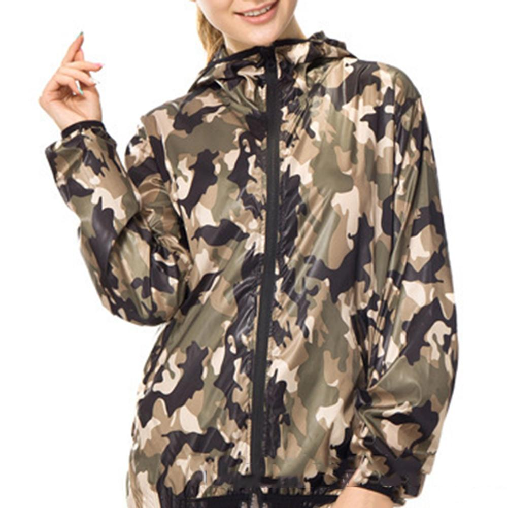 ISHINE Casaco Feminino Camouflage Color Hooded Loose Fashion Trench Coat For Winter abrigo mujer sobretudo For Women