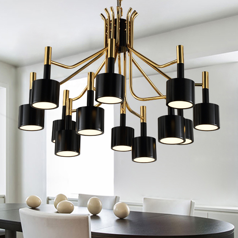 LED Pendant Lights For Living Room Bedroom Drop Gold Pendant Lamp Loft Russia Decoration Lighting For Hotel Lobby Free Shipping цена и фото