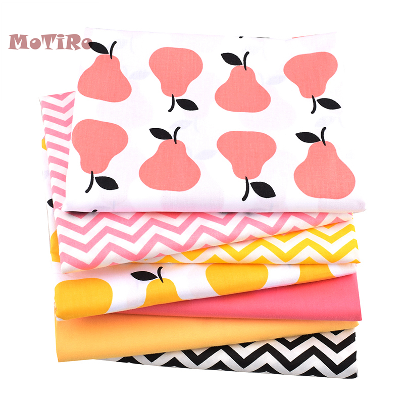 Motiro,half Meter,printed Twill Cotton Fabric,colorful Fruits Pattern Material For Diy/handmade/quilting/baby Sheet/pillow/toys Home & Garden Fabric