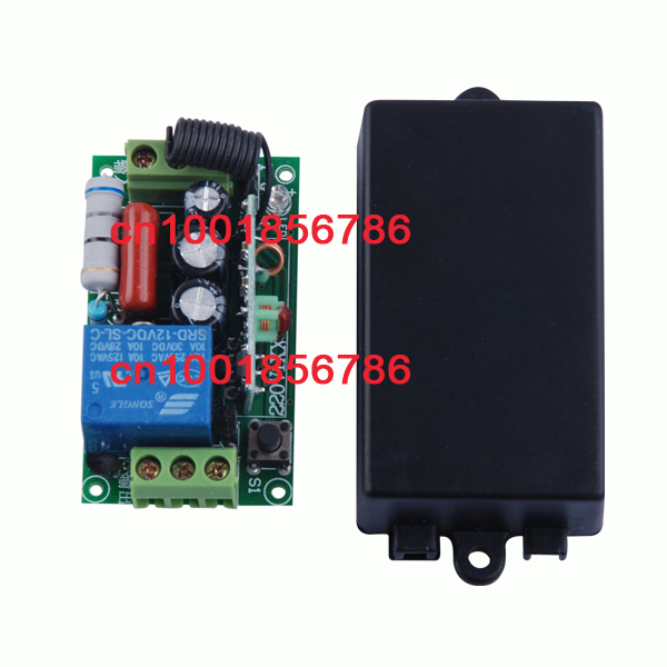 220V 1CH 10A wireless remote control switch 4 Receiver&4Transmitter output state is adjusted 1CH 1000W Remote Control Light домашний кинотеатр samsung ht j5530k 5 1ch 1000w караоке