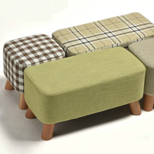 Nordic Style Shoes Bench Simple Modern Fashion Cloth Sofa Stool Fabric Shoes Bench Sofa Taburete Multifunction Ottoman Pouf low price modern nordic fabric home lobby wooden sofa set design for space saving apartment japan style