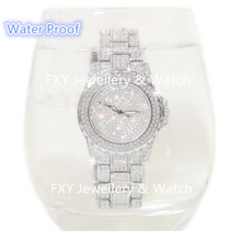 Water Proof women Full Rhinestone watch High Quality diamond dress watches lady stainless steel band Relojes Mujer Montre Femme weiqin angel silver women watches luxury high quality water resistant montre femme stainless steel 2017 dress woman wrist watch