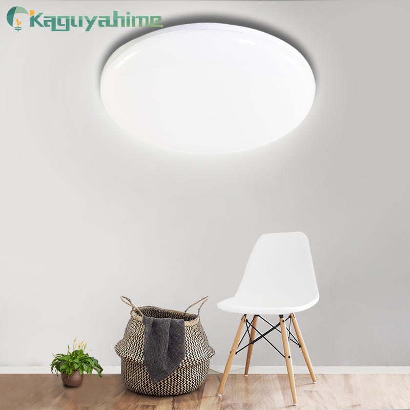 Kaguyahime LED Panel Light 18W 24W 36W 48W LED Surface Ceiling Downlight AC85-265V Round Ceiling Lamp For Decoration Home Light